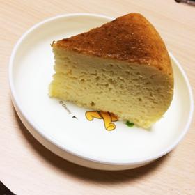 残った生クリームで炊飯器チーズケーキ♡
