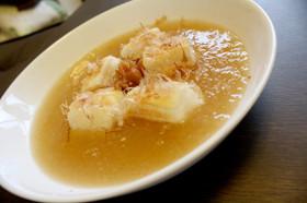 梅と大根おろしのしょうがスープ