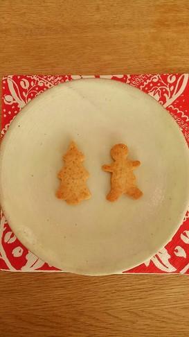 米油とてんさい糖で*ジンジャークッキー