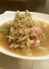【低糖質な食事】舞茸のしょうが雑穀スープ