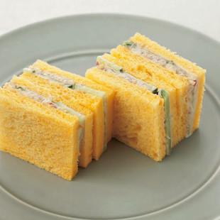ごま風味のきゅうりサンド