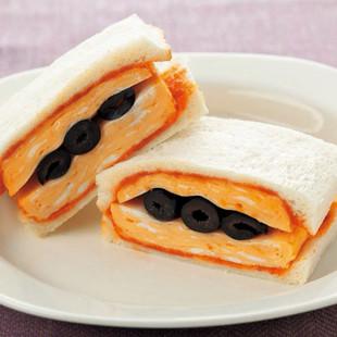 厚焼き卵のサンドイッチ
