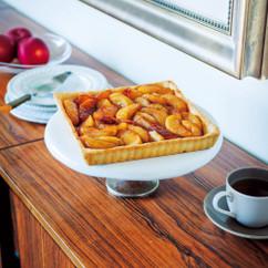 煮リンゴのタルト