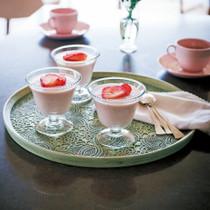 イチゴのババロア