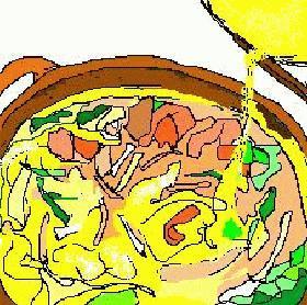 生鮭と白菜の柳川風
