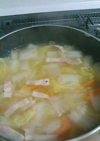 *風邪っぴきに捧ぐ☆野菜たっぷりポトフ*