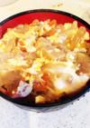 簡単!栄養満点の親子丼(^ ^)