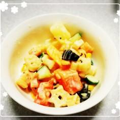 フルーツマカロニサラダ