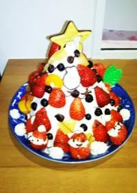 クリスマス★ツリーケーキ