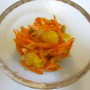 人参とオレンジのラペ 簡単おもてなしに♡