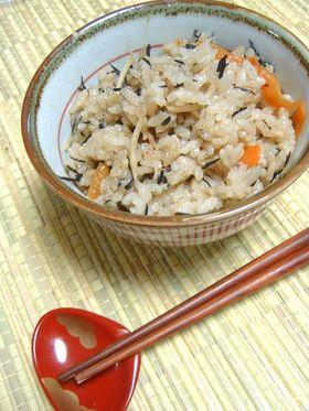 新生姜とシーチキンの炊き込み御飯♪