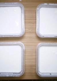 R1ヨーグルトの作り方(食品乾燥機)