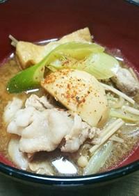 山形の芋煮(味噌味バージョン)