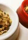 犬ごはん☆ササミと野菜、玄米の煮込み