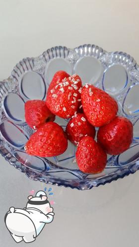 イチゴの酵素マリネ【アゲ活レシピ】