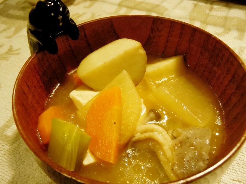 野菜たっぷり♪けんちん汁