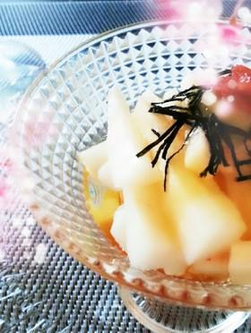 山芋の酢の物~お正月などにも!
