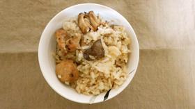 焼き鳥の炊き込みご飯
