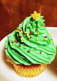 簡単美味しい!クリスマスカップケーキ