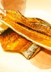 レンジでチン♪太刀魚のパリパリ骨せんべい