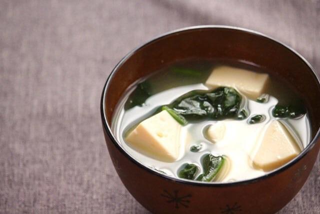 回復食にも♪ほうれん草と豆腐のしょうが汁