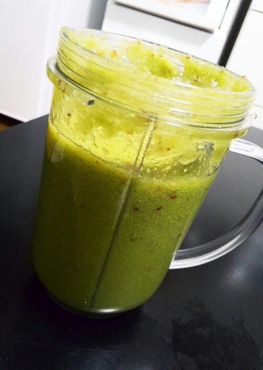 チンゲン菜のグリーンスムージー