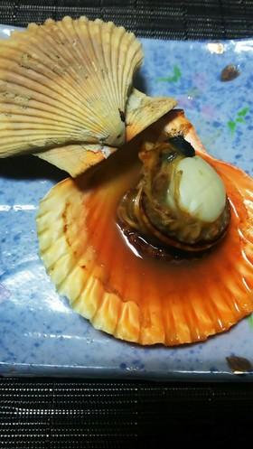長島産ヒオウギ貝のオーブントースター焼き