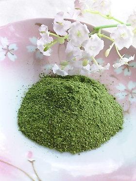 桜の葉の塩漬けで✿自家製 桜葉パウダー