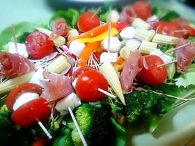 クリスマス 12種のサラダ