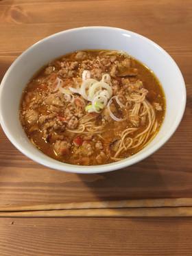 海老味噌ラーメン(蝦子麺使用)