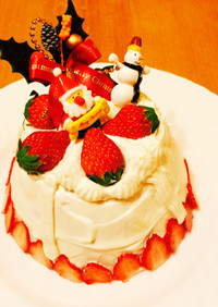 クリスマスドームケーキ