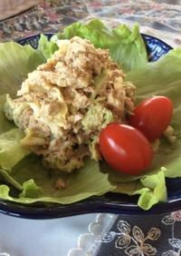 ⭐︎白菜とシーチキン胡麻和えサラダ