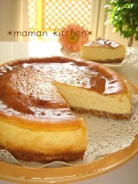 簡単☆しっとり濃厚チーズケーキ
