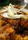 豆腐の豚バラ肉巻き⭐四川麻婆仕立て