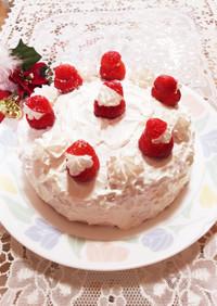 節約!簡単☆クリスマスケーキ☆