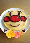 ヨナナスでアンパンマンのアイスケーキ♡