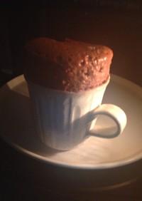 小腹空いたら3分でココアカップケーキ♪