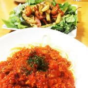 野菜たっぷり本格・超簡単ミートソースの写真