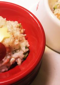 犬ご飯☆鶏と野菜のクリスマスリゾット