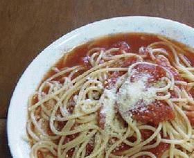 簡単トマトのスープスパ