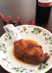 骨付きチキン*コーラ煮でお肉柔らか〜