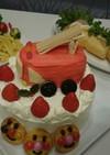 消防車☆ケーキ☆