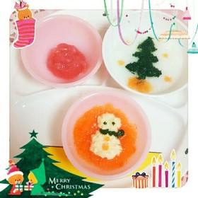 離乳食初期でも簡単クリスマスディナー