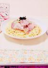 豚肉と白菜の和風スパゲティ
