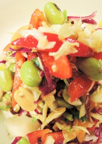 アジア風 コールスローサラダ