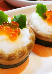 クリスマスにオススメ!サーモンロール寿司
