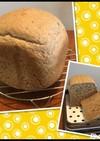 HB*マルチシリアルとライ麦全粒粉のパン