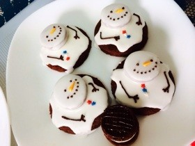スノーマン*アイシングクッキー