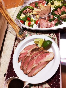 三枚肉でローストビーフ(*^^*)