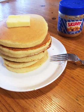 ホエーで簡単もちふわパンケーキ♪